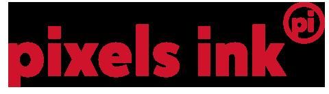Pixels Ink Logo