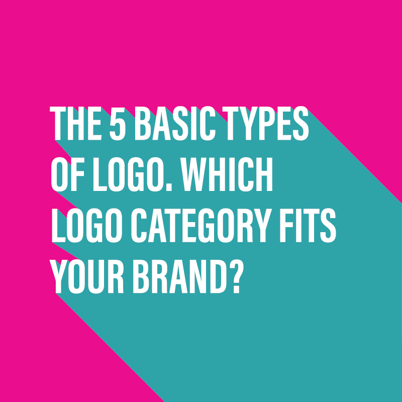 The 5 basic types of logo