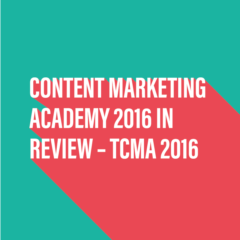 Review of Content Marketing Academy 2016