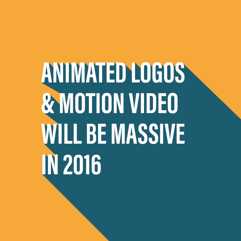 Animated logos and motion video 2016