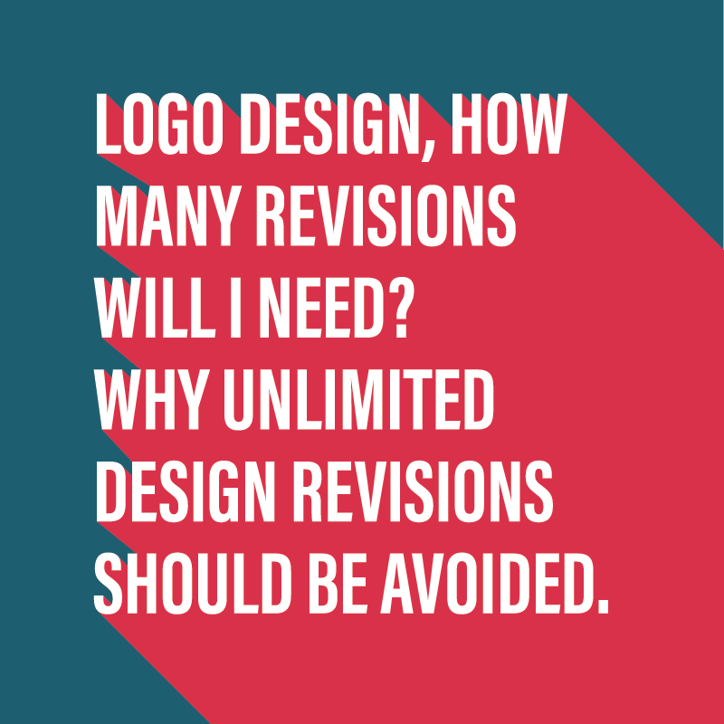 Why you should avoid unlimited logo revisions