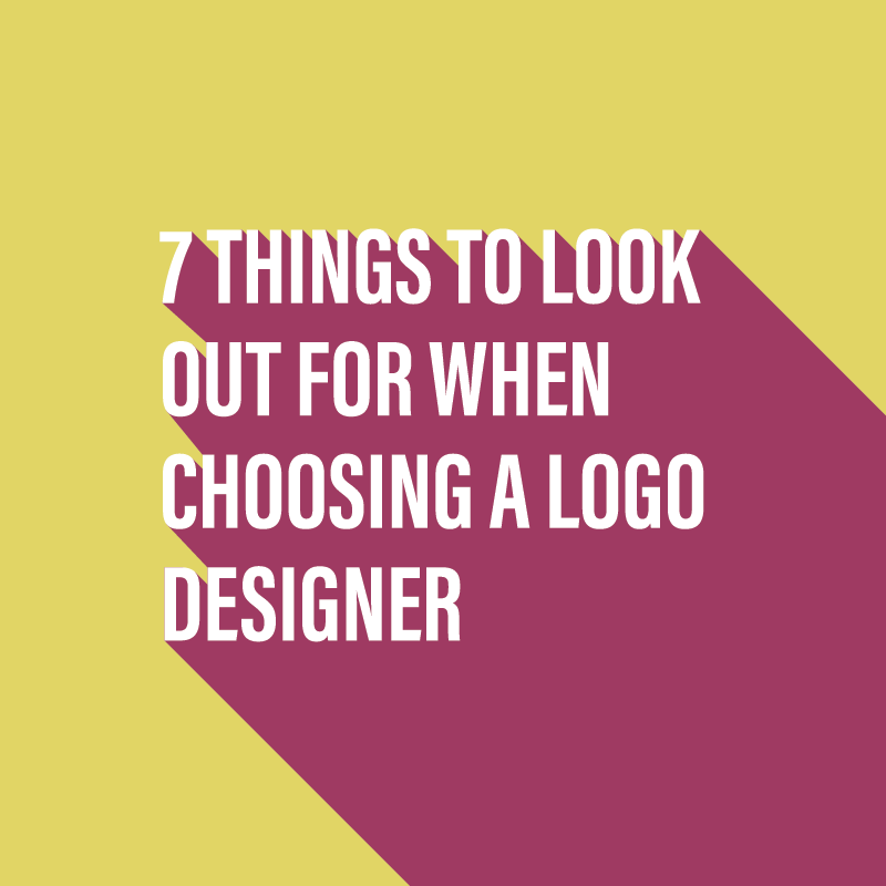 7 things to look out for when choosing a logo designer