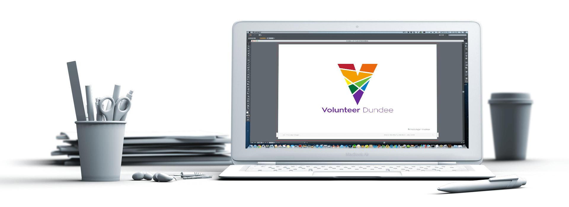 Volunteer Dundee Logo Macbook
