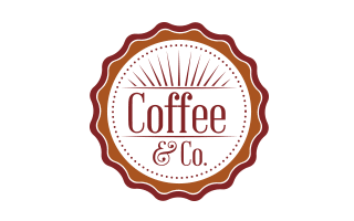 Logo design for Coffee & Co.