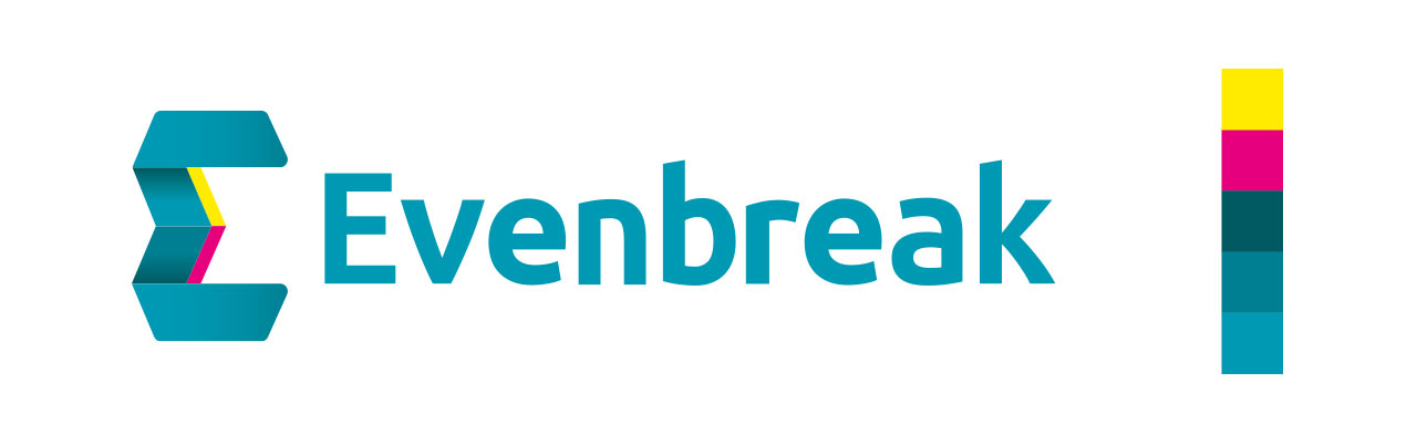 Evenbreak Logo Design and Colour Scheme