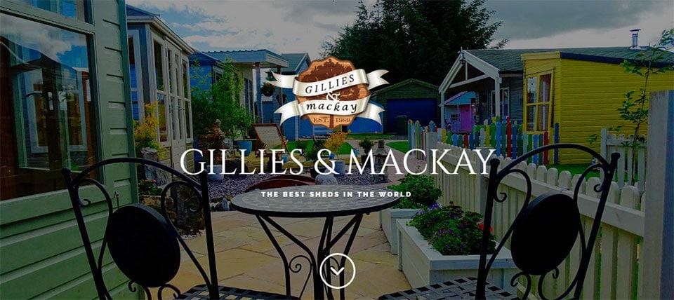 Gillies & Mackay Website