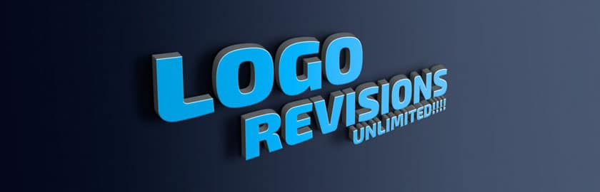 Unlimited logo design revisions - Pixels Ink